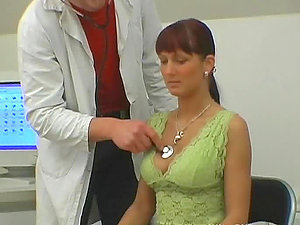Euro Red-haired Gets Fucked and Covered in Spunk By Horny Yankee Medic