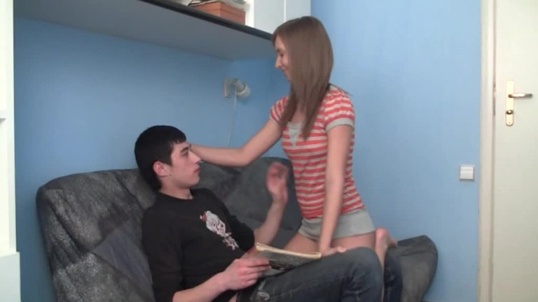 Teen pics panty sniffing teen
