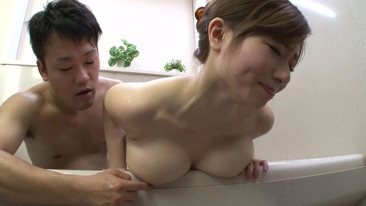 Azumi Porno bodacious azumi chino attempts to give a decent tit job in