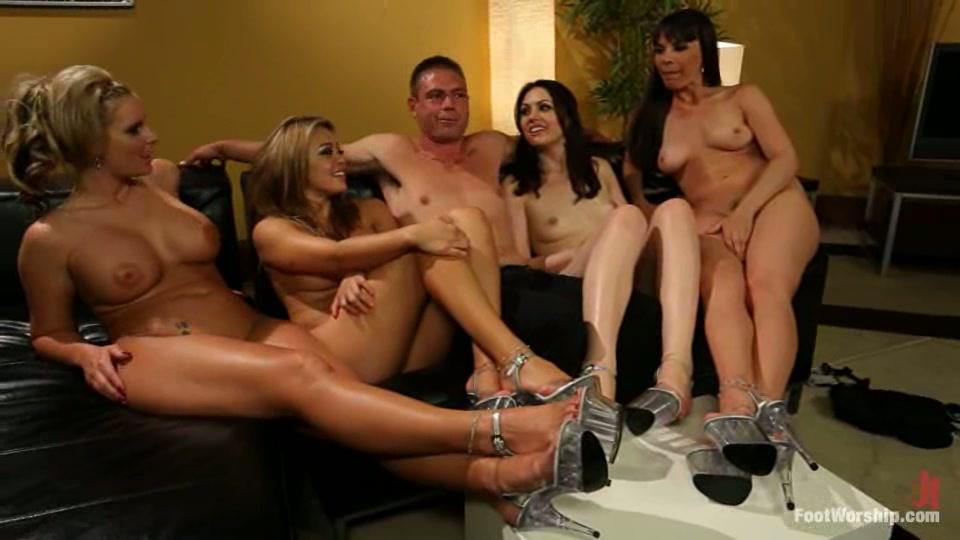 Naked men and girls